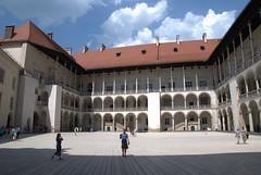 Sqaure of Wawel