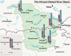 The Khrami-Debed River Basin (Zoi Environment Network) Tags: fall water ecology weather river georgia map evolution basin growth projection future caucasus armenia area change environment geography trend temperature rise curve increase climatechange climate forecast prediction globalwarming drainage precipitation hydrology catchment tendency decrease southcaucasus khramidebed