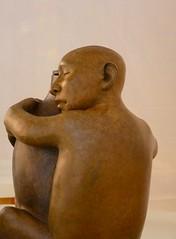 Indian Market 2012 (suenosdeuomi) Tags: sculpture newmexico santafe art lumix panasonic crop sat indianmarket sharpened roxanneswentzell panasoniclumixdmcfz35