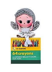 Cinder (boopsie.daisy) Tags: cute eye girl grey big doll handmade gray inspired crayon boopsiedaisy