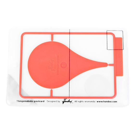 Haniboi - 可以玩的玩具明信片!