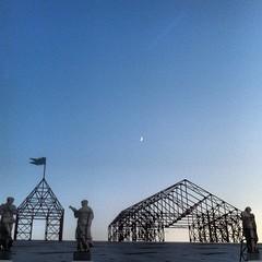 Moon Above #Riverbend #Cincinnati @linkinpark