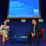 Ian McEwan talks to Alex Salmond