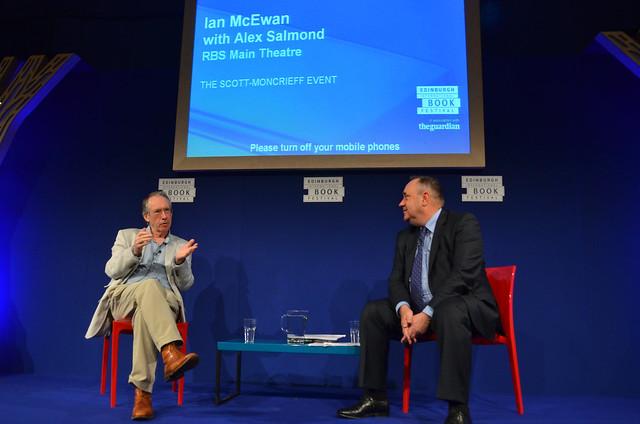Ian McEwan talks to Alex Salmond