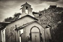 Maybe I Should Pray More... (azwoogie) Tags: arizona church urbandecay streetsign az oldchurch miamiaz convertedchurch globeaz gilacounty miamiarizona globearizona