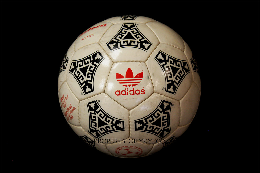 08d793d5b60 TANGO AZTECA MEXICO RED LETTERS OFFICIAL FIFA U20 WORLD CUP CHILE 1987  ADIDAS TOURNAMENT MATCH USED