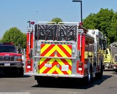 SJS Engine 16 (YFD) Tags: california usa canon fire action 911 sanjose firetruck fireengine sjfd emergency ems firedepartment hitech spartan gladiator pumper eos7d