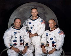 Portrait of Apollo 11 crewmembers (NASA on The Commons) Tags: aviation astronaut astronauts armstrong aldrin collins aviator spacesuit aerospace apolloxi michaelcollins apollo11 projectapollo buzzaldrin neilarmstrong mannedspaceflight pressuresuit edwinbuzzaldrin