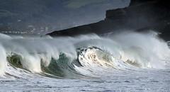 Winter Wave / 0942DSC (Rafael Gonzlez de Riancho (Lunada) / Rafa Rianch) Tags: olas waves vagues ondas beach playa santander cantabria