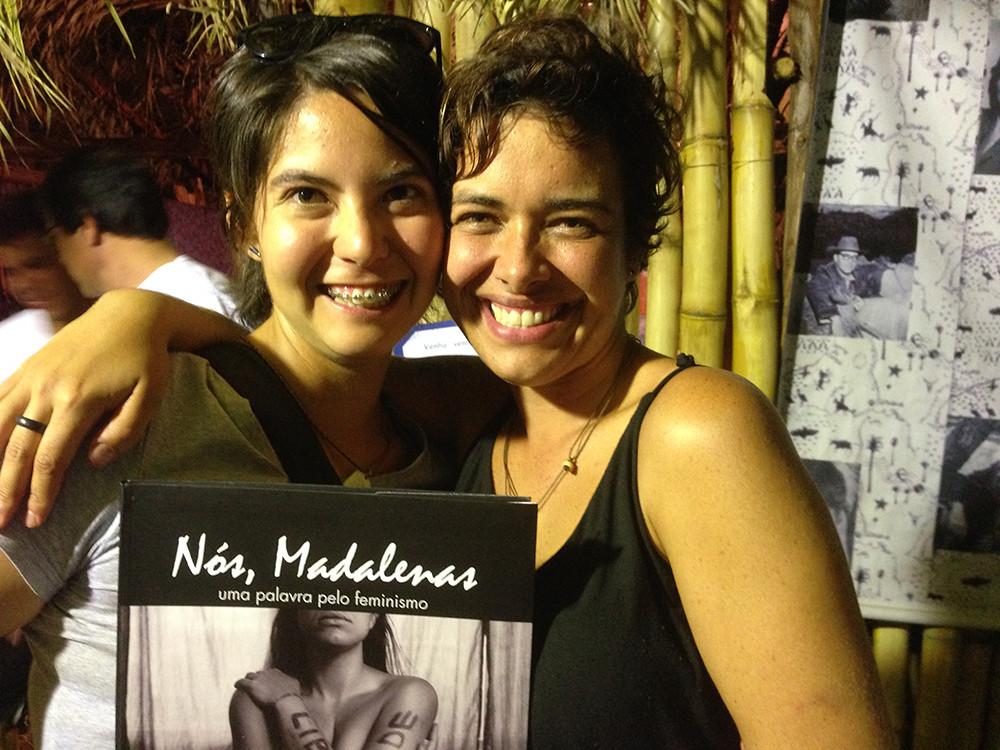 Nós, Madalenas - lançamento Carolina Kina e Maria Ribeiro