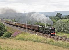 46233 Great Strickland 23-07-16 (prof@worthvalley) Tags: all types transport steam locomotive railway railroad uk 46233 duchess sutherland shap