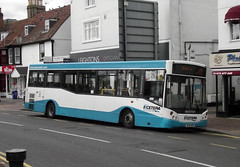 Epsom, 29.7.16 (Tony's Trains and Buses) Tags: epsom busesexcetera excetera dennis daet mcv evolution