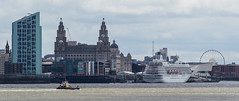 Pier Head (The Crewe Chronicler) Tags: liverpool pierhead mersey rivermersey liverbuilding ship cruiseship river canon canon7dmarkii