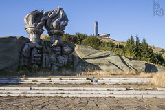 Buzludzha / Buzluda (katka.havlikova) Tags: buzludzha buzluda urbex urban exploration urbanexploration canon 700d bulgaria bulharskomonument komunism komunismus pamtnk hill abandoned oputn lost places msta decay outdoor