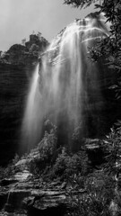 Wentworth Falls, Blue Mountains, NSW, Australia. (Marcus Revill) Tags: travel australia nsw new south wales waterfall waterfalls bluemountains nature water