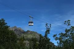 cabine de Dixence (bulbocode909) Tags: valais suisse dixence montagnes tlcabines arbres nature bleu vert