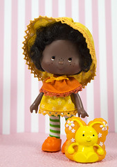 Orange Blossom (CptSpeedy) Tags: strawberryshortcake doll kenner vintage original 1980s 80s cartoon animated butterfly pet marmalade friend sweet girl fruit fruity smell americangreetings