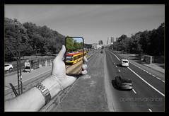 Tram to Mokotow (Aperture Variance) Tags: ifttt 500px maciej nadstazik aperture variance photos world tramwaj tram transport colour splash polska poland warszawa warsaw