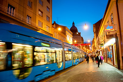 000063677115_Unapproved.jpg (hollyanniekatebennett) Tags: editorial zagreb downtowndistrict wide speed multicolored blue cultures architecture panoramic tourist people croatia europe night rivermaingermany street town train cablecar