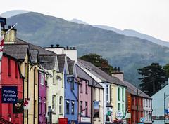 Llanberis (Jenne Barneveld) Tags: llanberis wales landscape catchy colours colourful houses