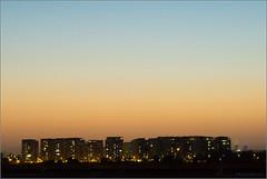 Tel Aviv Skyline (mikeyp2000) Tags: telaviv night buildings israel silhouette evening skyline sunset