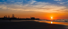 OCNJ Sunrise (c_slavik) Tags: sunrise ocean city nj beach shore jersey atlantic beauty orange sunset landscape seascape nature