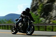Suzuki 1608203370w (gparet) Tags: bearmountain bridge road scenic overlook motorcycle motorcycles goattrail goatpath windingroad curves twisties outdoor vehicle