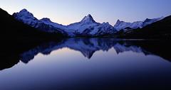 Blue SSUSY* (Alpine Light & Structure) Tags: switzerland schweiz suisse alps alpen alpes bachalpsee berneroberland berneseoberland lake ssusy swisssupersymmetrysituation
