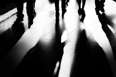 ...orkeepitlight... (ines_maria) Tags: highcontrast crowd people monochrome blackandwhite city urban contrast light