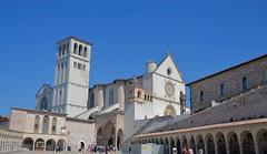 BASILICA OF ST FRANCIS OF ASSISI, ASSISI, ITALY (deepfoto) Tags: nikon italy church assisi