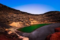 Charco de los Clicos (Green Lagoon) (Paul Bemert) Tags: landscape strand volcano wasser water bemert ilce7m2 paul mountains spain summer alpha lanzarote sony sonyalpha7ii himmel 7ii meer