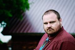 Seth (WickedVT) Tags: gritty man megandsethwedding portrait rugged serious seth wedding