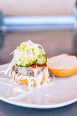 LewisBork Burgers (6 of 7) (Spencer Pernikoff) Tags: burgers food nikon d750