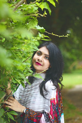 Portrait (Tanveer Hreydoy) Tags: portrait woman womanportrait green
