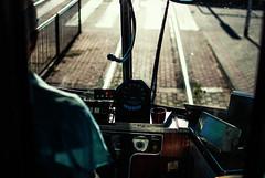 359 365 Drivers Seat (ewitsoe) Tags: 365 ewitsoe nikond80 35mm tram driverseat seat window drive man captain tramdriver tranist train poznan poland summer view morning driving communiation transit vehicle
