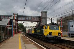 70017 (Steven Atkinson) Tags: 70017 4l92 ditton felixstowe runcorn freightliner intermodal