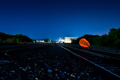 S T R A N G E R      T H I N G S (//FloatingVibe//) Tags: strangerthings stranger explore train tracks red dallas fort worth nikon d7200