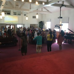 37th church anniversary for  First Filipino American-UCC on Sunday, August 14, 2016