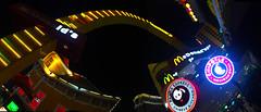 Las Vegas (James B Currie) Tags: lasvegas nevada lights city 2016 travel vegas mcdonalds pandaexpress panorama june