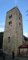 Saxon Tower PSD (Rhydgaled) Tags: oxford saxon tower clock church stmichaelatthenorthgate photoshop photomerge