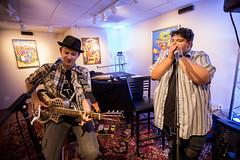 A.J. Fullerton (Art Gallery, Blues For Breakfast, O.penVAPE Sessions) (Telluride Blues & Brews Festival) Tags: galleryshow telluridebluesbrewsfestival telluride tellurideblues telluridecolorado telluridetownpark telluridebluesandbrews ajfullerton bluesforbreakfast openvape