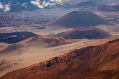 2016-08-25 - Haleakala National Park - Image-19 (www.bazpics.com) Tags: kula hawaii unitedstates us haleakala volcano volcanic national park maui dawn early morning light cinder cones mist shadow colour