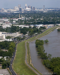 Mississippi River (Ray Devlin) Tags: aerial louisiana new orleans superdome skyline levees uptown uptownneworleans mississippiriver