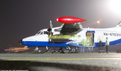 _DSC7058 (southspotterman1) Tags: l410 airplanes spotting unoo inomsk omsk airport     410  nightspotting