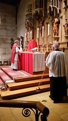 Holy Cross 2016 (Saint John's Church, Passaic, New Jersey) Tags: saintjohnschurchpassaicnewjerseyusa episcopal episcopales anglican anglicanos anglocatholic anglocatolicos sungmass misa cantada altar chasuble casulla incense incienso