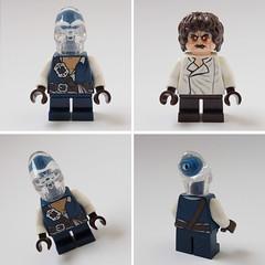 newbies #1 (Sweeney Todd, the Lego) Tags: lego monsters rock frankenstein zombie zombiedriver pizza hut marilyn monroe alien minifigure minifigures moc