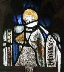 saint with a book (Simon_K) Tags: wiggenhall mary magdalene magdalen norfolk eastanglia