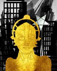 Metropolis-24 (Coconut-Cove) Tags: fan metropolis homage art deco fritz lang thea von harbou conceptual abstract interpretive perceptual collage zietgeist hintergrund