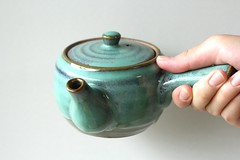 Ceramic Kyusu from a local shop in Wazuka (Obubu Tea Farms) Tags: japan japanese japanesetea kyusu wazuka