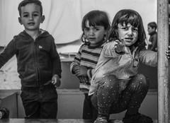 HELP (pelpis) Tags: refugee refugeecrisis refugeecamp refugeechild katsikas katsikascamp children childhood child blackandwhite bw scene portrait life crisis